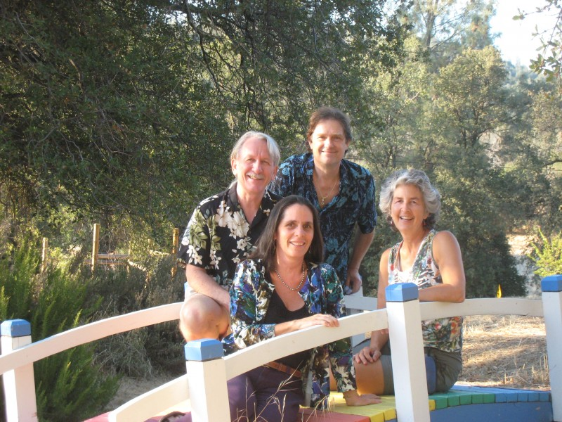 The Acoustic Ensemble: Richard, Catherine, Doug, Kathy; October 2013