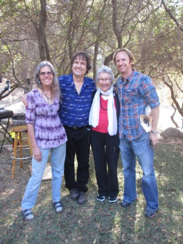 sister Jaine, Doug, Mom and brother Charlie, after 10/13/13