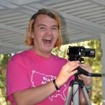 Dylan Rodrigue, filmer extraordinaire! Rainbowland concert, 8/23/14